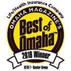 WoodmenLife is the 2018 Best Of Omaha Winner for Best Life/Health Insurance Company