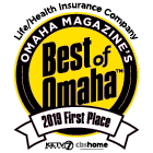 WoodmenLife is the 2019 Best Of Omaha First Place for Best Life/Health Insurance Company