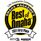 WoodmenLife is the 2021 Best Of Omaha First Place for Best Life Insurance Company